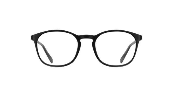 Norr Ögontröst shiny black läsglasögon